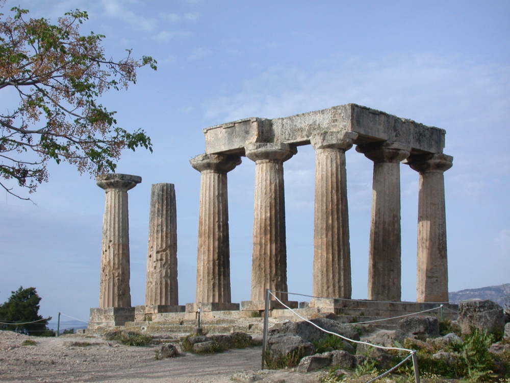 Ruins of the Temple of Apollo, Corinth